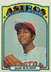 1972 Topps Baseball Cards      020      Don Wilson